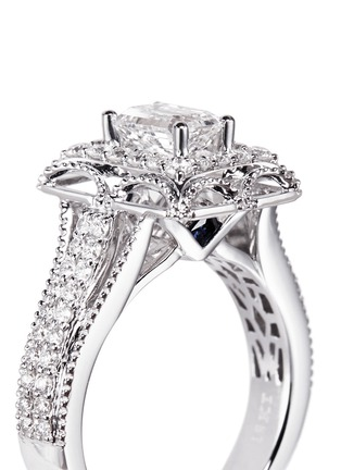 Detail View - Click To Enlarge - VERA WANG LOVE - Tiara - diamond engagement ring