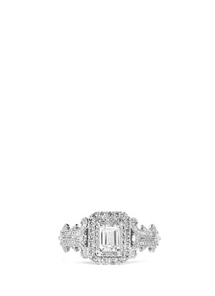 Main View - Click To Enlarge - VERA WANG LOVE - East Meets West - Diamond Engagement Ring
