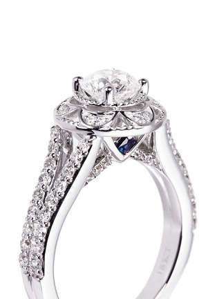 Detail View - Click To Enlarge - VERA WANG LOVE - Tiara - diamond engagement ring