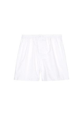 首图 - 点击放大 - ZIMMERLI - 暗条纹纯棉平脚内裤