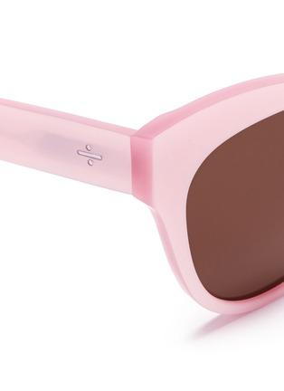 Detail View - Click To Enlarge - BLANC & ECLARE - 'Paris' cat eye acetate sunglasses