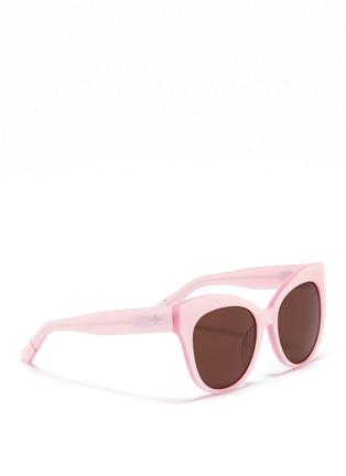 Figure View - Click To Enlarge - BLANC & ECLARE - 'Paris' cat eye acetate sunglasses