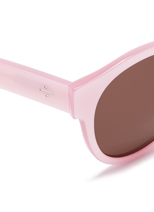 Detail View - Click To Enlarge - BLANC & ECLARE - 'Shanghai' round acetate sunglasses