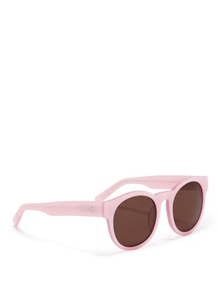 Figure View - Click To Enlarge - BLANC & ECLARE - 'Shanghai' round acetate sunglasses