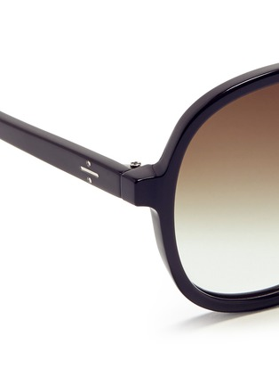 Detail View - Click To Enlarge - BLANC & ECLARE - 'Hong Kong' acetate aviator sunglasses