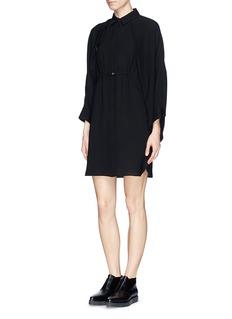 ALEXANDER WANG Batwing sleeve shirt dress