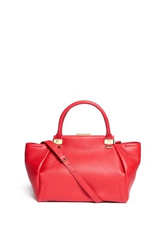 LANVINTrilogy small grained leather bag