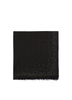 FALIERO SARTIStrass virgin wool scarf