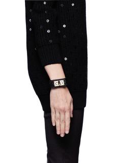 GIVENCHYShark turn-lock bracelet