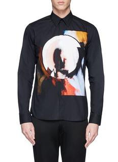 GIVENCHYMadonna Halo abstract print poplin shirt