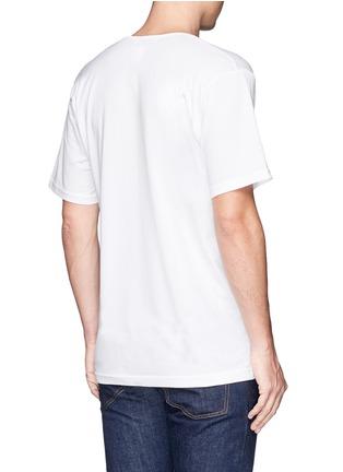 背面 - 点击放大 - SUNSPEL - 纯棉V领T恤