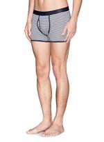 Superfine cotton low-waist boxers