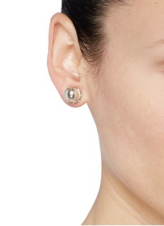 GIVENCHYPavé crystal sphere magnetic single earring