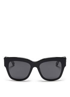 DOLCE & GABBANACherry blossom print acetate sunglasses