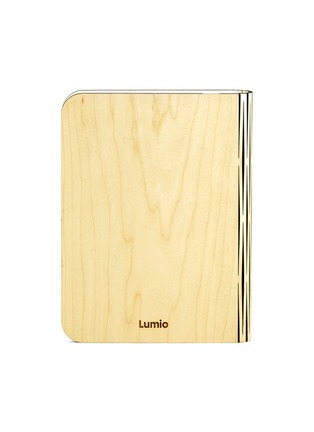 Main View - Click To Enlarge - Lumio - Lumio folding book lamp - Blonde Maple