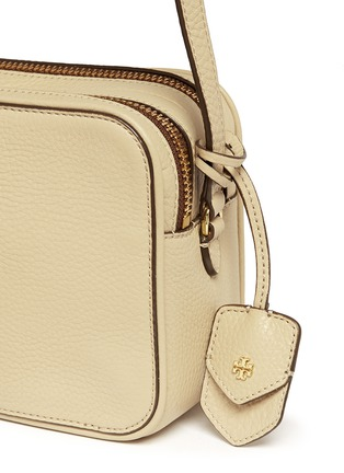 - Tory Burch - 'Robinson' double zip leather crossbody bag