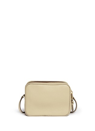 Back View - Click To Enlarge - Tory Burch - 'Robinson' double zip leather crossbody bag