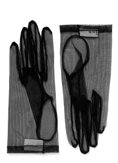 GIVENCHY Short tulle gloves