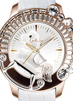 'La Giostra I' rocking horse crystal watch