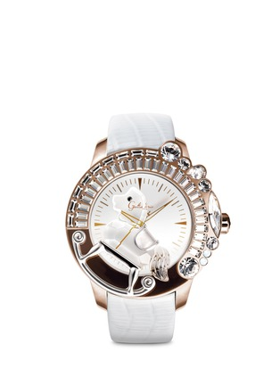 Main View - Click To Enlarge - Galtiscopio - 'La Giostra I' rocking horse crystal watch