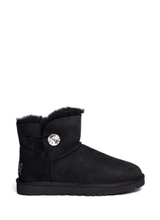 UGG AUSTRALIA 'Mini Bailey Button Bling' boots