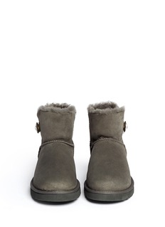 UGG AUSTRALIA 'Mini Bailey' bling button boots