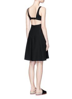 T By Alexander WangCutout back crepe midi dress
