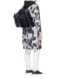 MCM x Christopher Raeburn'Jet Pack' leather modular bucket bag