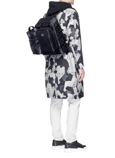 MCM x Christopher Raeburn'Jet Pack' leather modular box bag