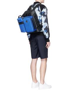 MCM x Christopher Raeburn'Jet Pack' quilted modular bucket bag
