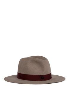 Borsalinox Nick Fouquet beaver felt fedora hat