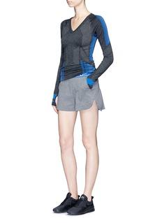 Lndr'Track' logo waistband running shorts