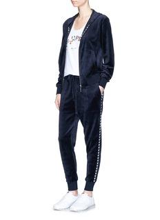 The Upside'Jackie' velour track pants