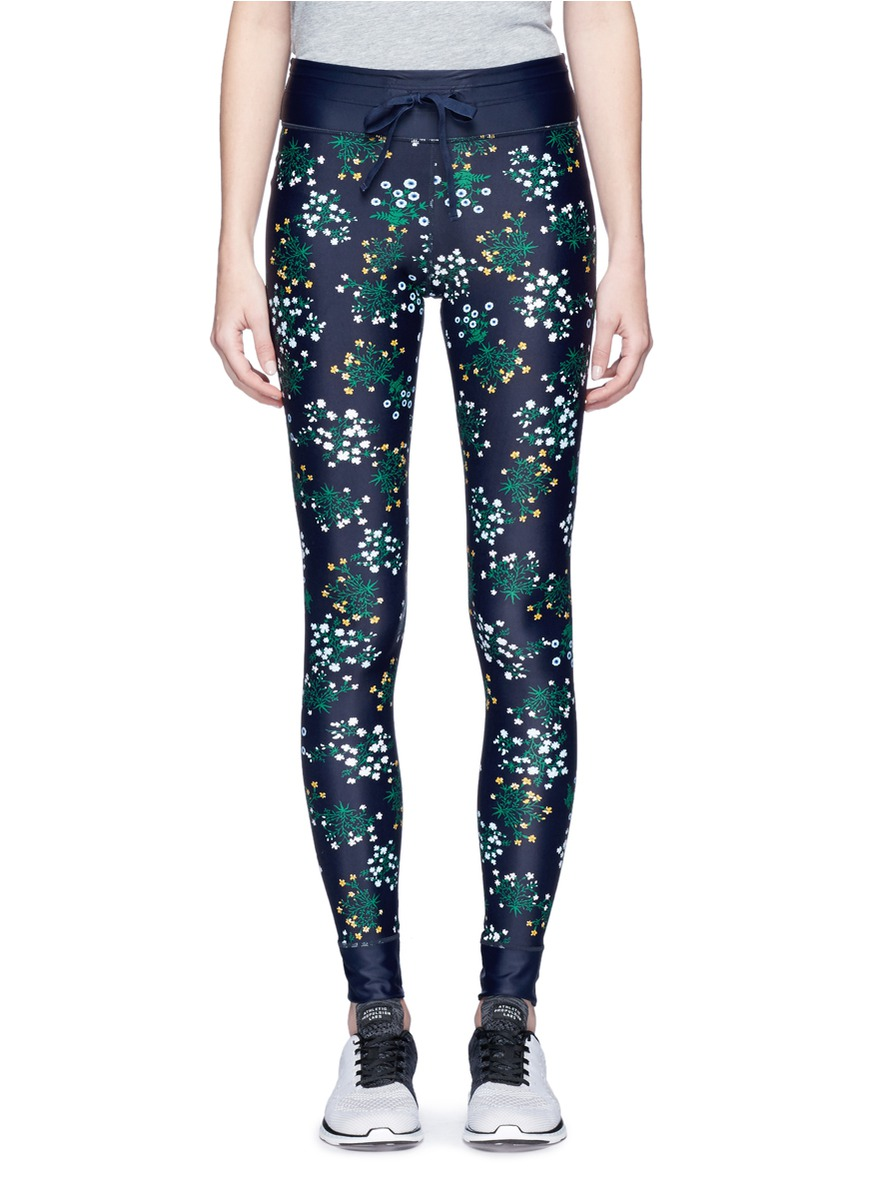 Ditsy floral print yoga pants by The Upside