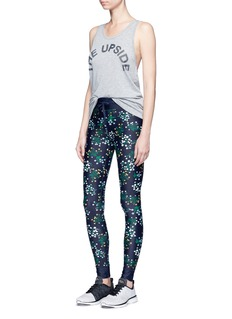 The Upside 'Ditsy' floral print yoga pants