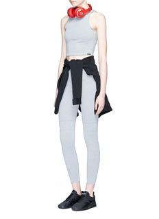 KORAL 'Defense' cropped performance top