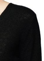ADRIANNA RL V领羊绒针织衫