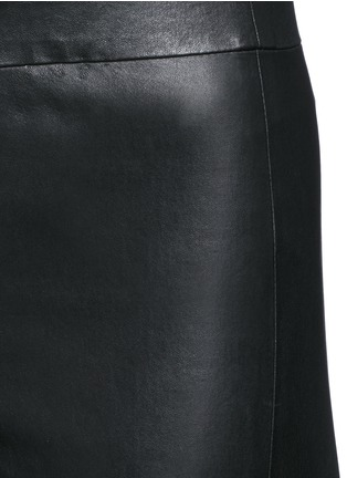 Detail View - Click To Enlarge - Theory - 'Adbelle' lamb leather leggings