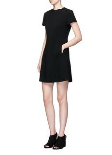 Theory'Apalia' contour seam A-line dress