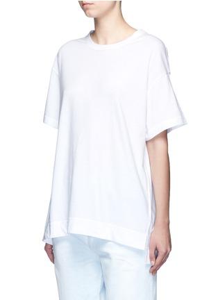 Front View - Click To Enlarge - Tu Es Mon Trésor - 'Fragile' sequin slogan T-shirt