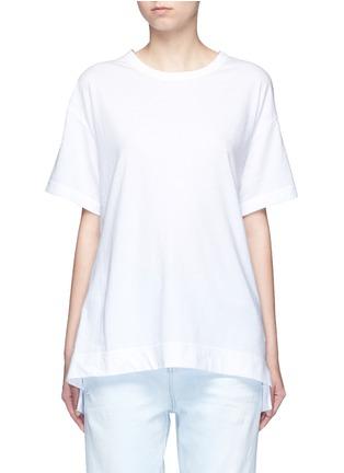 Main View - Click To Enlarge - Tu Es Mon Trésor - 'Fragile' sequin slogan T-shirt