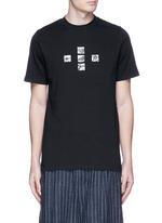 Ethnic wild animals combo print T-shirt