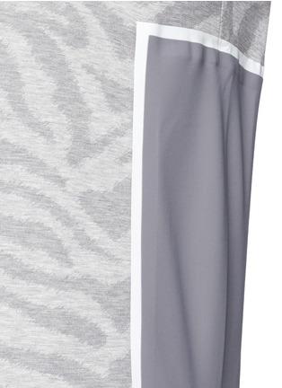 细节 - 点击放大 - OAMC - 斑马纹矩形拼贴上衣