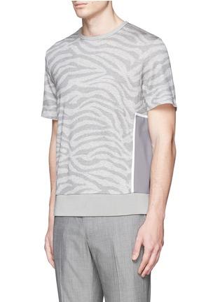 正面 -点击放大 - OAMC - 斑马纹矩形拼贴上衣