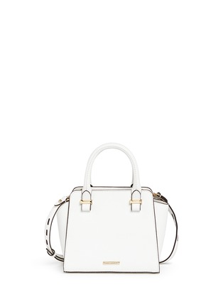 Back View - Click To Enlarge - Rebecca Minkoff - 'Avery' micro saffiano leather tote bag