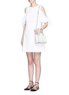 REBECCA MINKOFF'Avery' micro saffiano leather tote bag