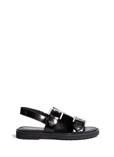 OPENING CEREMONY Monk strap leather sandal