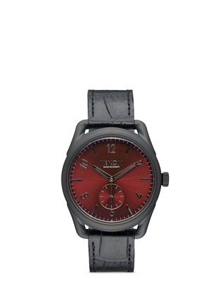 Main View - Click To Enlarge - Nixon - 'The C39 Leather' watch