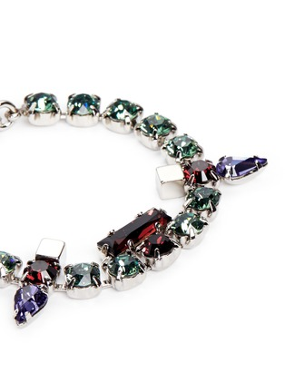 Detail View - Click To Enlarge - Joomi Lim - 'Pixel Perfect' cube crystal bracelet
