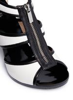 'Berkley' caged leather sandals